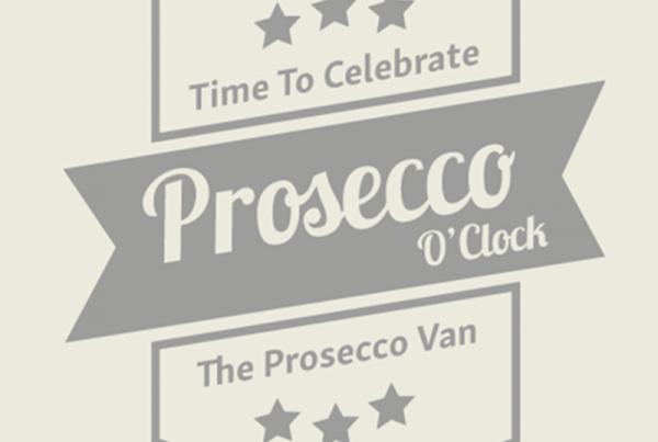 Logo design Northampton and Norwich for Prosecco O'Clock