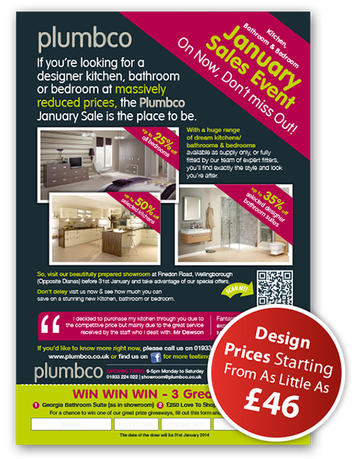 advert design northampton